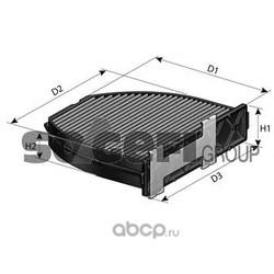 Фильтр, воздух во внутренном пространстве (PURFLUX) AHC318