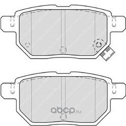 Комплект тормозных колодок, дисковый тормоз (Ferodo) FDB4335