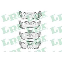 Комплект тормозных колодок, дисковый тормоз (Lpr) 05P1000