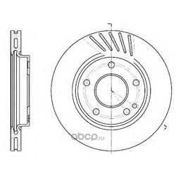 Тормозной диск (Remsa) 652710