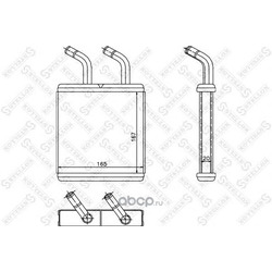 Теплообменник (Stellox) 1035123SX