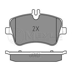 Комплект тормозных колодок, дисковый тормоз (Meyle) 0252314419