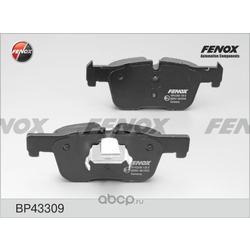 Комплект тормозных колодок, дисковый тормоз (FENOX) BP43309