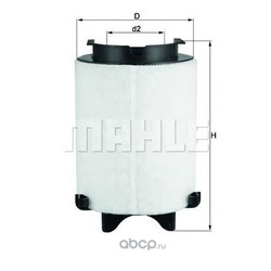 Воздушный фильтр (Mahle/Knecht) LX15661