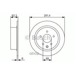 Тормозной диск (Bosch) 0986479R14