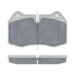 Колодки торм.FR (SCT) SP272