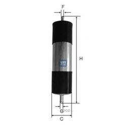 Топливный фильтр (UFI) 3192100