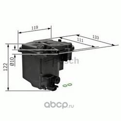 Топливный фильтр (Bosch) 0450907006