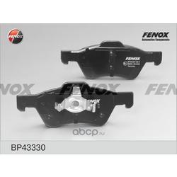 Комплект тормозных колодок, дисковый тормоз (FENOX) BP43330