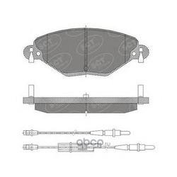 Комплект тормозных колодок, дисковый тормоз (SCT) SP421
