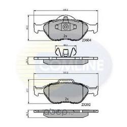 Комплект тормозных колодок, дисковый тормоз (Comline) CBP0891