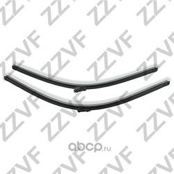 Щетки стеклоочистителя переднего (комплект - 2 шт.) (ZZVF) ZV63CP