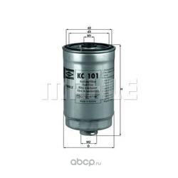Топливный фильтр (Mahle/Knecht) KC101
