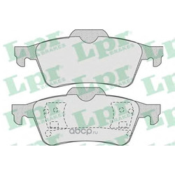 Комплект тормозных колодок, дисковый тормоз (Lpr) 05P815