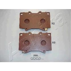 Комплект тормозных колодок, дисковый тормоз (Ashika) 5002268