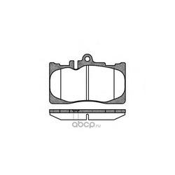 Комплект тормозных колодок, дисковый тормоз (Remsa) 089000