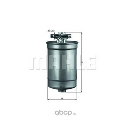 Топливный фильтр (Mahle/Knecht) KL554D