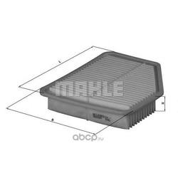 Воздушный фильтр (Mahle/Knecht) LX1613