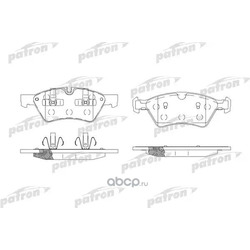 Колодки тормозные дисковые передн MERCEDES-BENZ: E-CLASS 06-, GL-CLASS 06-, M-CLASS 05-, R-CLASS 06- (PATRON) PBP1830