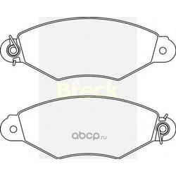 Комплект тормозных колодок, дисковый тормоз (BRECK) 219800070210