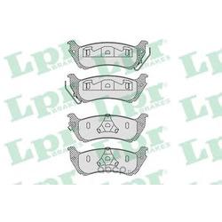 Комплект тормозных колодок, дисковый тормоз (Lpr) 05P1065