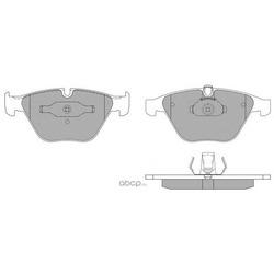 Комплект тормозных колодок, дисковый тормоз (FREMAX) FBP1574