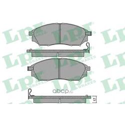 Комплект тормозных колодок, дисковый тормоз (Lpr) 05P1406
