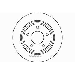 Диск тормозной TEXTAR (Textar) 92130600