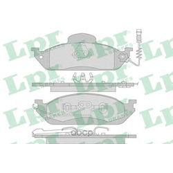 Комплект тормозных колодок, дисковый тормоз (Lpr) 05P983