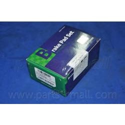 Комплект тормозных колодок (Parts-Mall) PKHE06