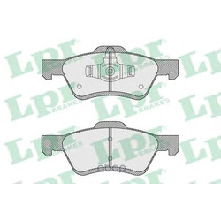 Комплект тормозных колодок, дисковый тормоз (Lpr) 05P1622
