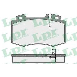 Комплект тормозных колодок, дисковый тормоз (Lpr) 05P899