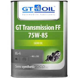 GT Transmission FF, SAE 75W-85, API GL-4, 4л (GT OIL) 8809059407806