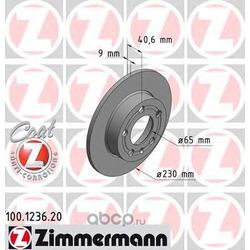 Тормозной диск (Zimmermann) 100123620