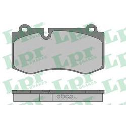 Комплект тормозных колодок, дисковый тормоз (Lpr) 05P1506