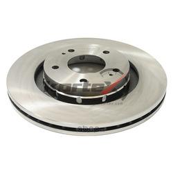 Диск торм. перед.вент.(d=294mm) (KORTEX) KD0203