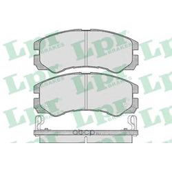Комплект тормозных колодок, дисковый тормоз (Lpr) 05P565