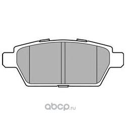 Комплект тормозных колодок (Delphi) LP2493