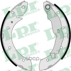 Комплект тормозных колодок (Lpr) 07135