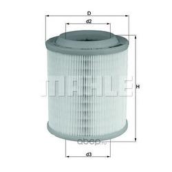 Воздушный фильтр (Mahle/Knecht) LX1275