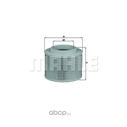 Воздушный фильтр (Mahle/Knecht) LX28081