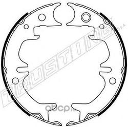 Комплект тормозных колодок, стояночная тормозная система (Trusting) 115316
