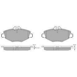 Комплект тормозных колодок, дисковый тормоз (FREMAX) FBP1304