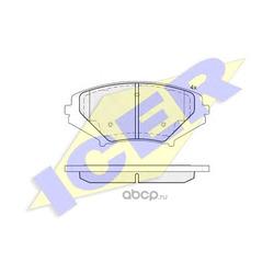 Комплект тормозных колодок, дисковый тормоз (Icer) 181670