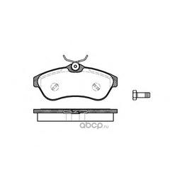 Комплект тормозных колодок, дисковый тормоз (Remsa) 088000
