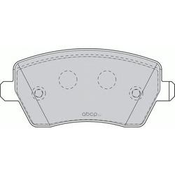 Комплект тормозных колодок, дисковый тормоз (Ferodo) FDB1617