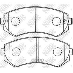 Колодки тормозные дисковые (NiBK) PN2199