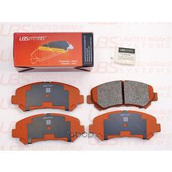 Колодки тормозные дисковые | перед | (UBS) B1105025