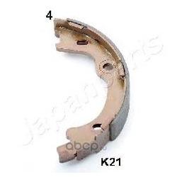Комплект тормозных колодок, стояночная тормозная система (Japanparts) GFK21AF