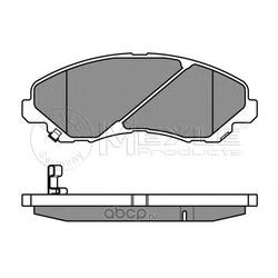 Комплект тормозных колодок, дисковый тормоз (Meyle) 0252358416W